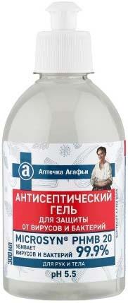 Рецепты Бабушки Агафьи Аптечка Агафьи Антисептический гель для рук и тела (300 мл)