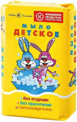 Невская Косметика Детское мыло туалетное (90 г)