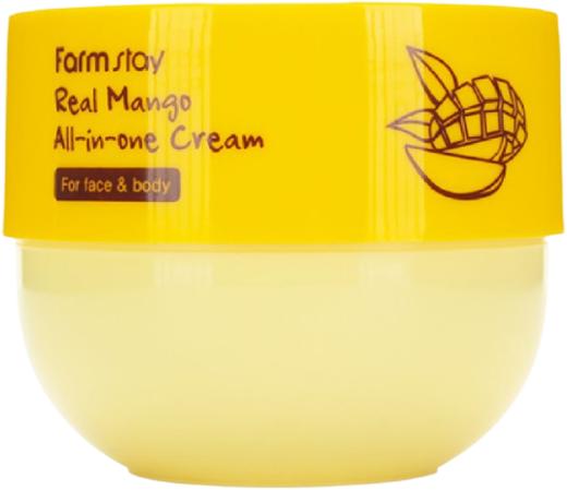 Farmstay Real Mango All-in-One Cream for Face & Boby крем многофункциональный с экстрактом манго (300 мл)