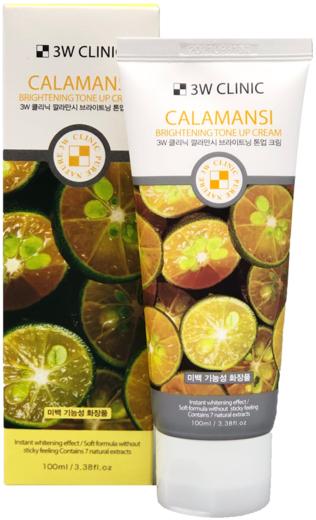 3W Clinic Calamansi Brightening Tone Up Cream крем для лица с экстрактом каламанси (100 мл)