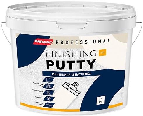 Parade Professional S21 Finishing Putty финишная шпатлевка (1.5 кг)