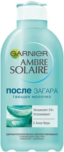 Garnier Ambre Solaire с Алоэ Вера тающее молочко после загара (200 мл)