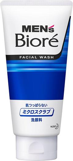 Biore Men's Facial Wash скраб для лица мужской (синий 130 мл)