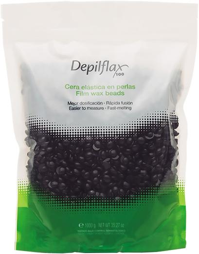 Depilflax 100 Filml Wax Beads воск пленочный синий в гранулах (1 кг)