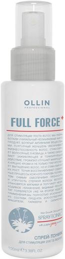 Оллин Professional Full Force Spray-Tonic спрей-тоник для стимуляции роста волос с экстрактом женьшеня