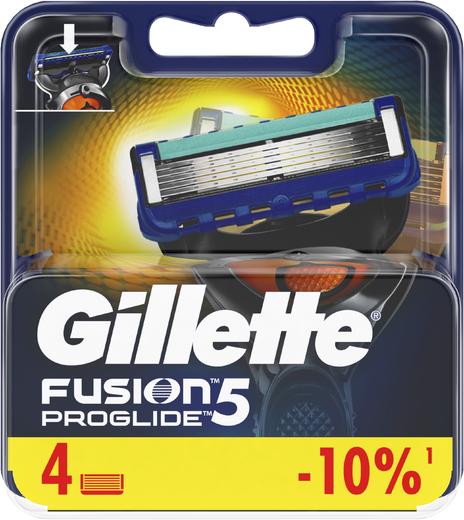 Gillette Fusion 5 Proglide сменные кассеты для бритья (2 сменные кассеты в блистере)