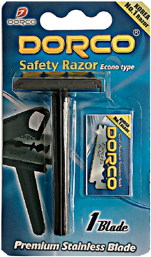 Dorco Safety Razor станок бритвенный классический (1 блистер)