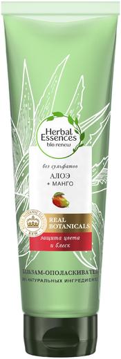 Herbal Essences Алоэ и Манго Защита Цвета и Блеск бальзам-ополаскиватель для волос (275 мл)