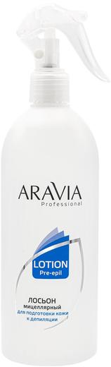 Аравия Professional Lotion Pre-Epil лосьон мицеллярный для подготовки кожи к депиляции (500 мл)