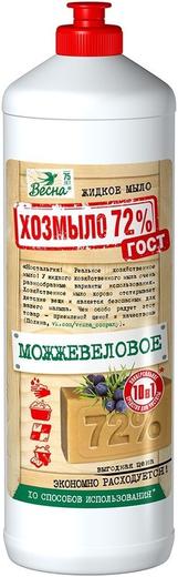 Весна 72% Можжевеловое жидкое мыло (1 л)