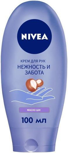 Нивея Нежность и Забота Масло Ши крем для рук (100 мл)