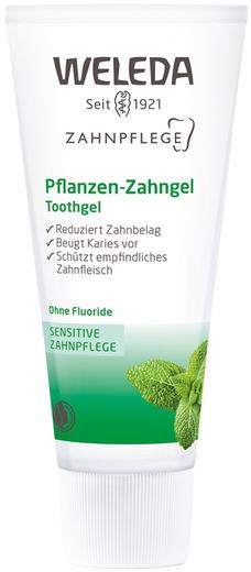 Weleda Sensitive-Zahnpflege Toothgel паста-гель растительная зубная на травах (75 мл)