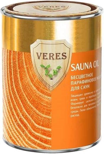 Veres Sauna Oil бесцветное парафиновое масло для саун (500 мл) бесцветное