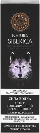 Natura Siberica Сибирская Косметика для Настоящих Мужчин Сила Волка крем для лица супер тонизирующий на диких травах тайги (50 мл)