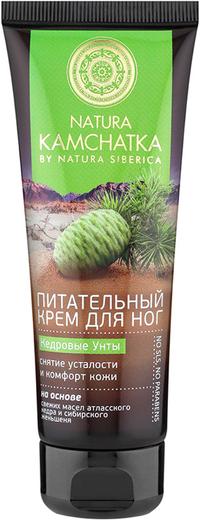 Natura Siberica Natura Kamchatka Кедровые Унты Снятие Усталости и Комфорт Кожи крем для ног питательный (75 мл)