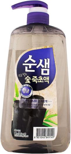 Kerasys Бамбуковый Уголь средство для мытья посуды (1 л)