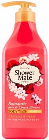 Kerasys Shower Mate Romantic Rose and Cherry Blossom гель для душа (550 мл)