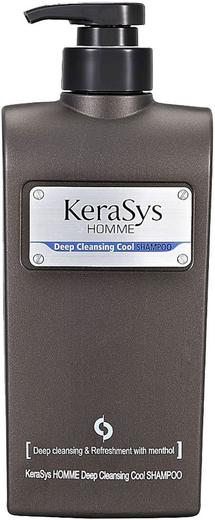 Kerasys Homme Deep Cleansing Cool Shampoo шампунь освежающий для мужчин (550 мл)