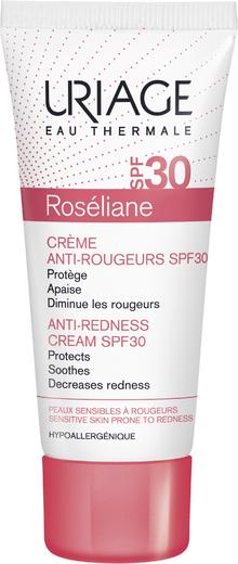 Урьяж Roseliane Creme Anti-Rougeurs SPF30 крем для лица против покраснений солнцезащитный (40 мл)
