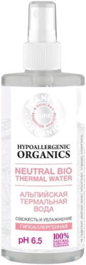 Планета Органика Pure Hypoallergenic Organics Свежесть и Увлажнение альпийская гипоаллергенная термальная вода (200 мл)
