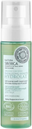 Natura Siberica Органический Гидролат Аралии Маньчжурской тоник-гидролат для сухой кожи лица (100 мл)