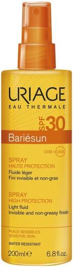 Урьяж Bariesun Spray Haute Protection SPF30 спрей солнцезащитный для чувствительной кожи лица и тела (200 мл)