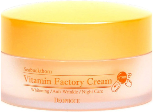 Deoproce Seabuckthorn Vitamin Factory Cream крем ночной омолаживающий для лица (100 мл)