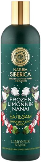 Natura Siberica Frozen Limonnik Nanai Энергия и Рост Волос бальзам для ослабленных и поврежденных волос (400 мл)