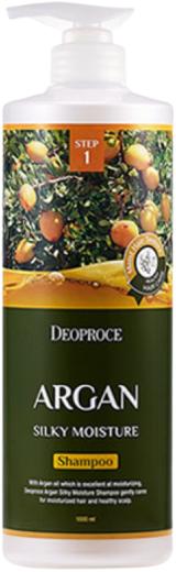 Deoproce Argan Silky Moisture Shampoo шампунь с аргановым маслом (200 мл)