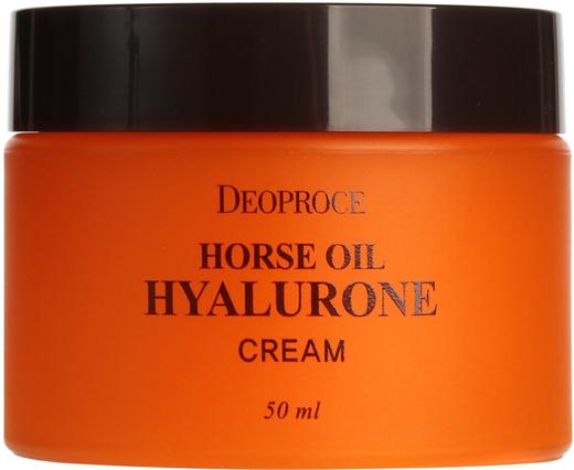 Deoproce Horse Oil Hyalurone Cream крем питательный на основе лошадиного жира (100 мл)