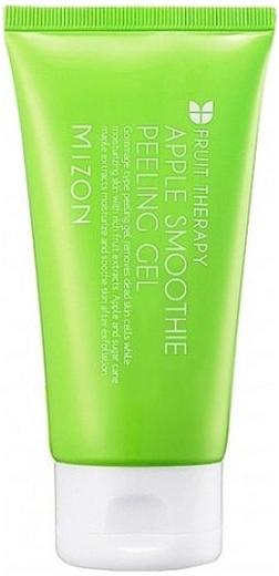 Mizon Apple Smoothie Peeling Gel пилинг-скатка яблочная для всех типов кожи