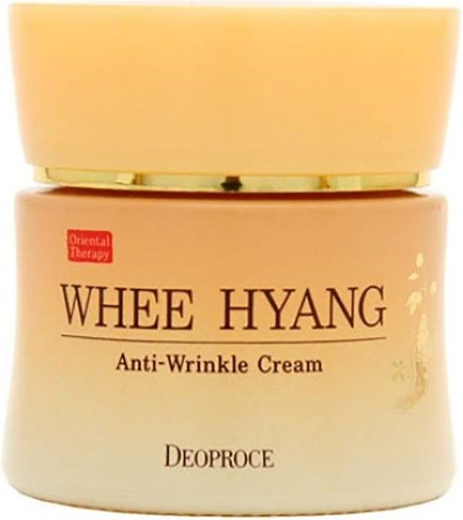 Deoproce Whee Hyang Anti-Wrinkle Cream крем с женьшенем против морщин (50 мл)