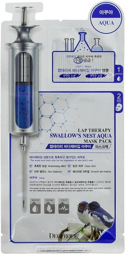 Deoproce Lap Therapy Swallows Nest Aqua Mask Pack маска-сыворотка с экстрактом ласточкиного гнезда (25 мл)