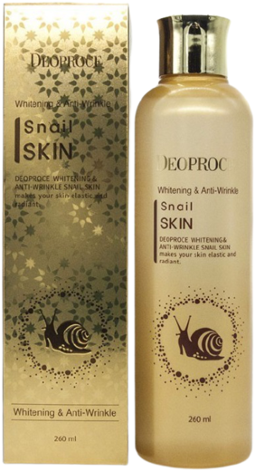 Deoproce Whitening And Anti-Wrinkle Snail Skin эссенция для лица с улиточным экстрактом
