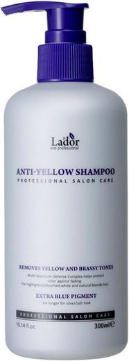 Lador Anti-Yellow Shampoo шампунь оттеночный для светлых волос (300 мл)