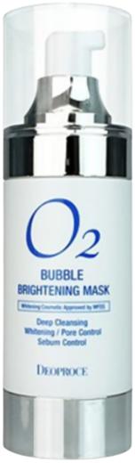 Deoproce O2 Bubble Brightening Mask маска для лица осветляющая кислородная (100 мл)