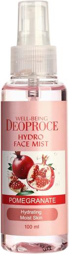 Deoproce Well-Being Hydro Face Mist Pomegranate спрей освежающий с экстрактом граната (100 мл)