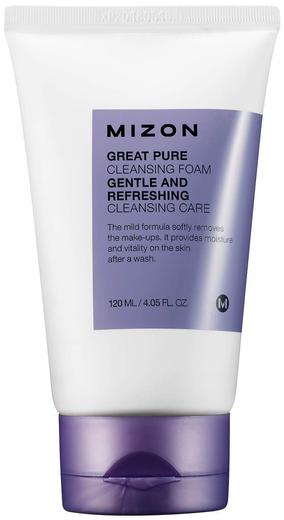 Mizon Great Pure Cleansing Foam пенка скрабирующая для очищения кожи лица (120 мл)