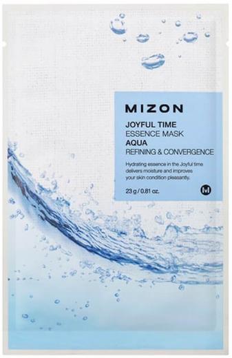 Mizon Joyful Time Essence Mask Aqua маска для лица тканевая с морской водой (1 тканевая маска в саше)
