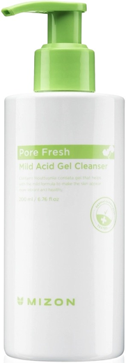Mizon Pore Fresh Mild Acid Gel Cleanser гель очищающий для всех типов кожи лица (200 мл)