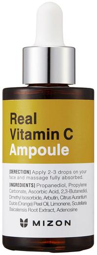 Mizon Real Vitamin C Ampoule сыворотка для жирной проблемной кожи с витамином С (30 мл)