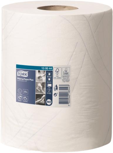 Tork Wiping Paper Plus Premium M2 бумажные полотенца (6 рулонов в упаковке)