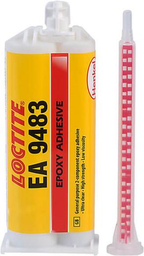 Локтайт EA 9483 двухкомпонентный эпоксидный клей оптически прозрачный (50 мл)