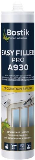 Bostik A930 Easy Filler Pro выравнивающий акриловый герметик (280 мл) белый