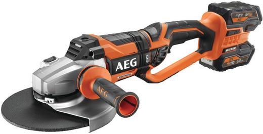 AEG BEWS 18-230BLLI-602C бесщеточная угловая шлифмашина