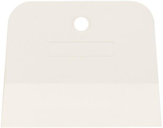Шпатель белая резина Сибртех (150 мм) трапеция