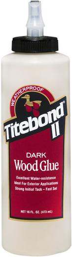 Titebond Dark Wood Glue клей для темных пород дерева (473 мл)