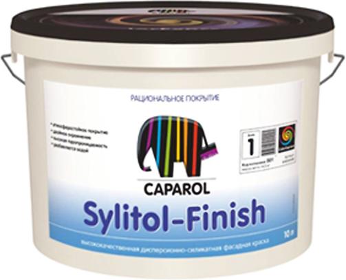 Caparol Sylitol Finish 130 материал для нанесения фасадных и выравнивающих покрытий (10 л) белый