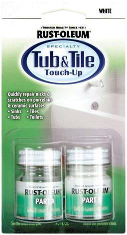 Rust-Oleum Specialty Tub & Tile Touch-Up реставратор для ванн и кафельной плитки (13.5 мл)