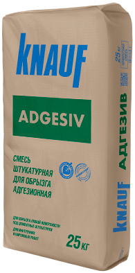 Кнауф Адгезив смесь штукатурная адгезионная для обрызга (25 кг)